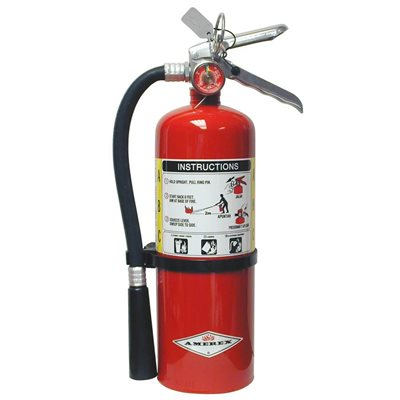 Amerex B500, 5lb ABC Dry Chemical Fire Extinguisher